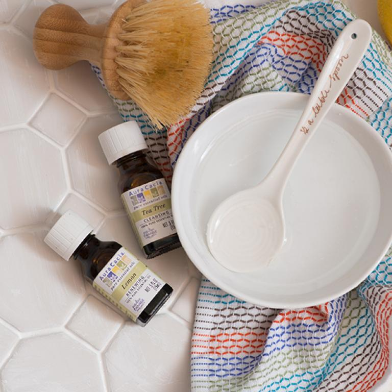 Tile Floor Cleaner With Lemon And Tea